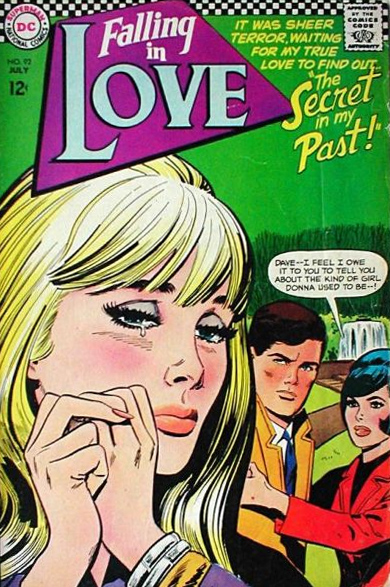Falling in Love  #92 (July 1967) Pencils: Jay Scott Pike