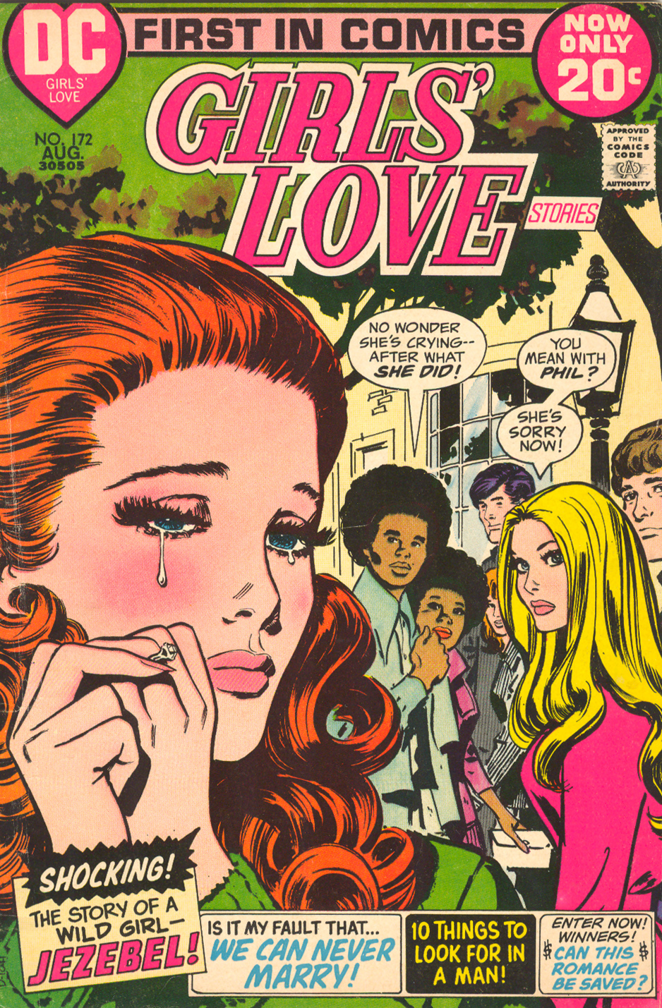 Girls' Love Stories  #172 (August 1972) Pencils and Inks: Jay Scott Pike