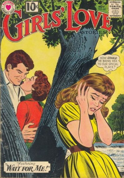 Girls' Love Stories  #82 (November 1961) Pencils: John Romita