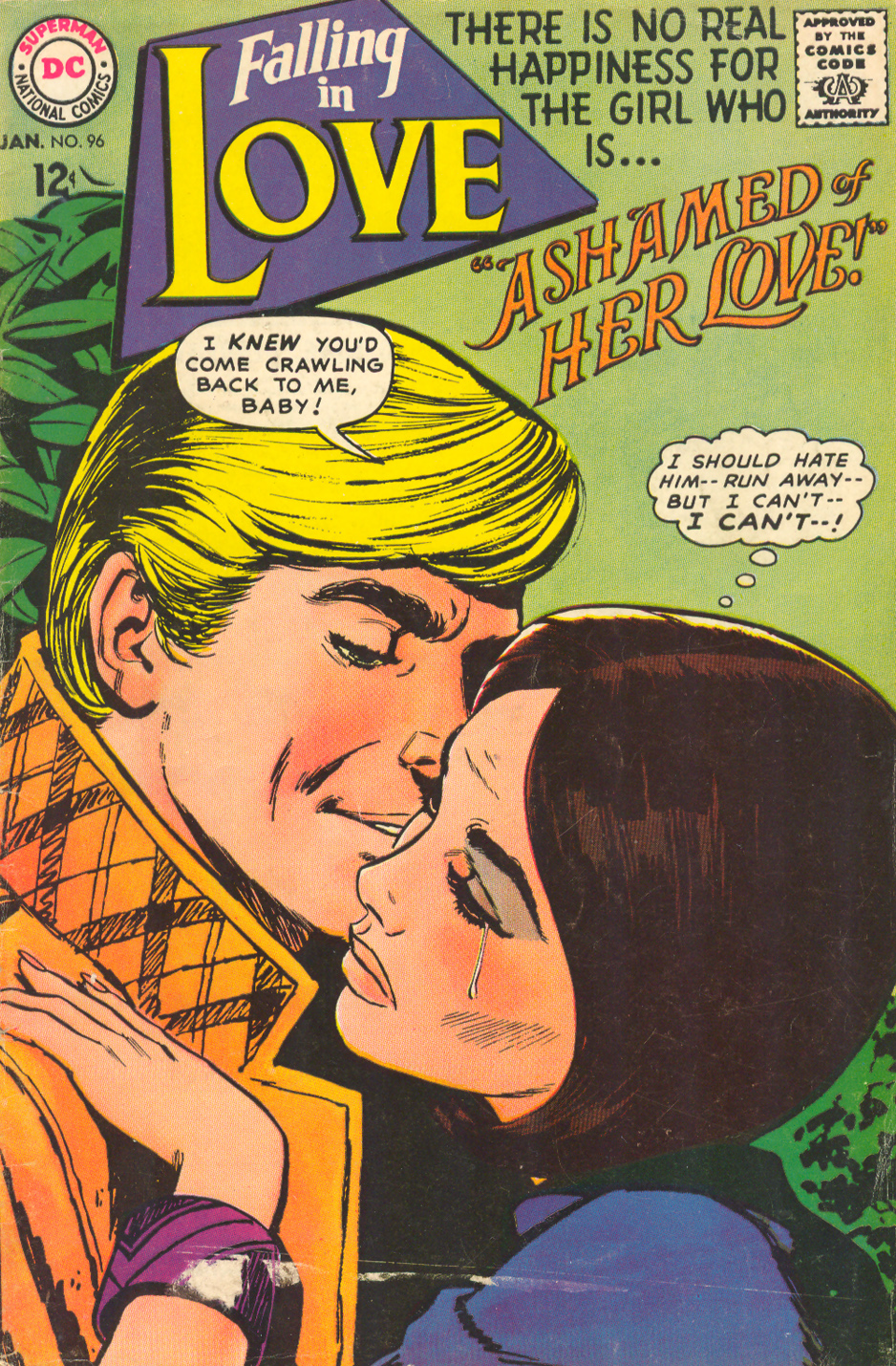 Falling in Love Jay Scott Pike romance comic book story