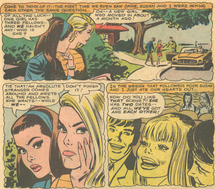 Best pouty face in the entirety of romance comics, hands down.