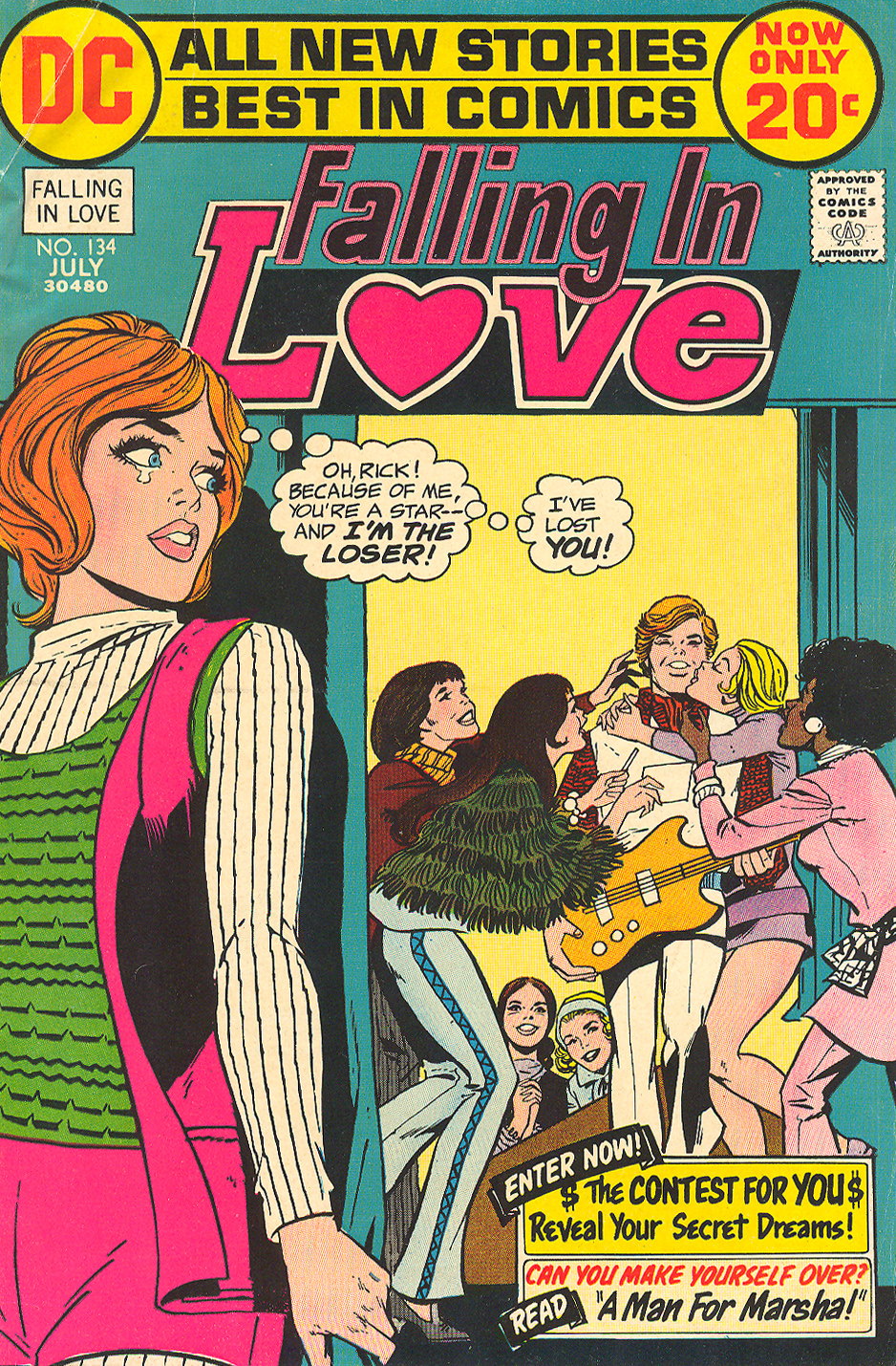 Falling in Love  #134 (July 1972)
