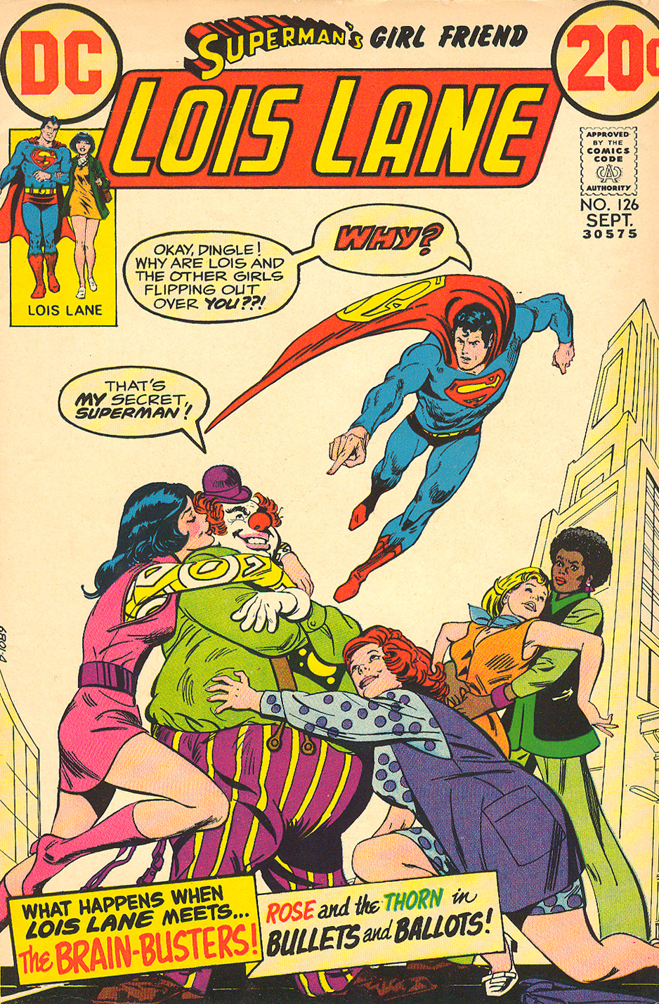Superman's Girl Friend Lois Lane  #126 (September 1972)