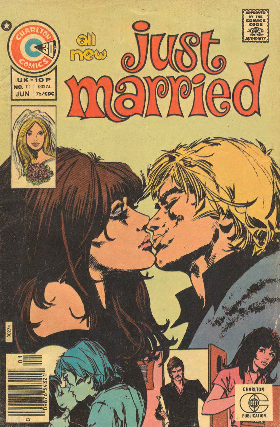 Just Married #111 (June 1976) Illustrated by: Jorge Badia Romero