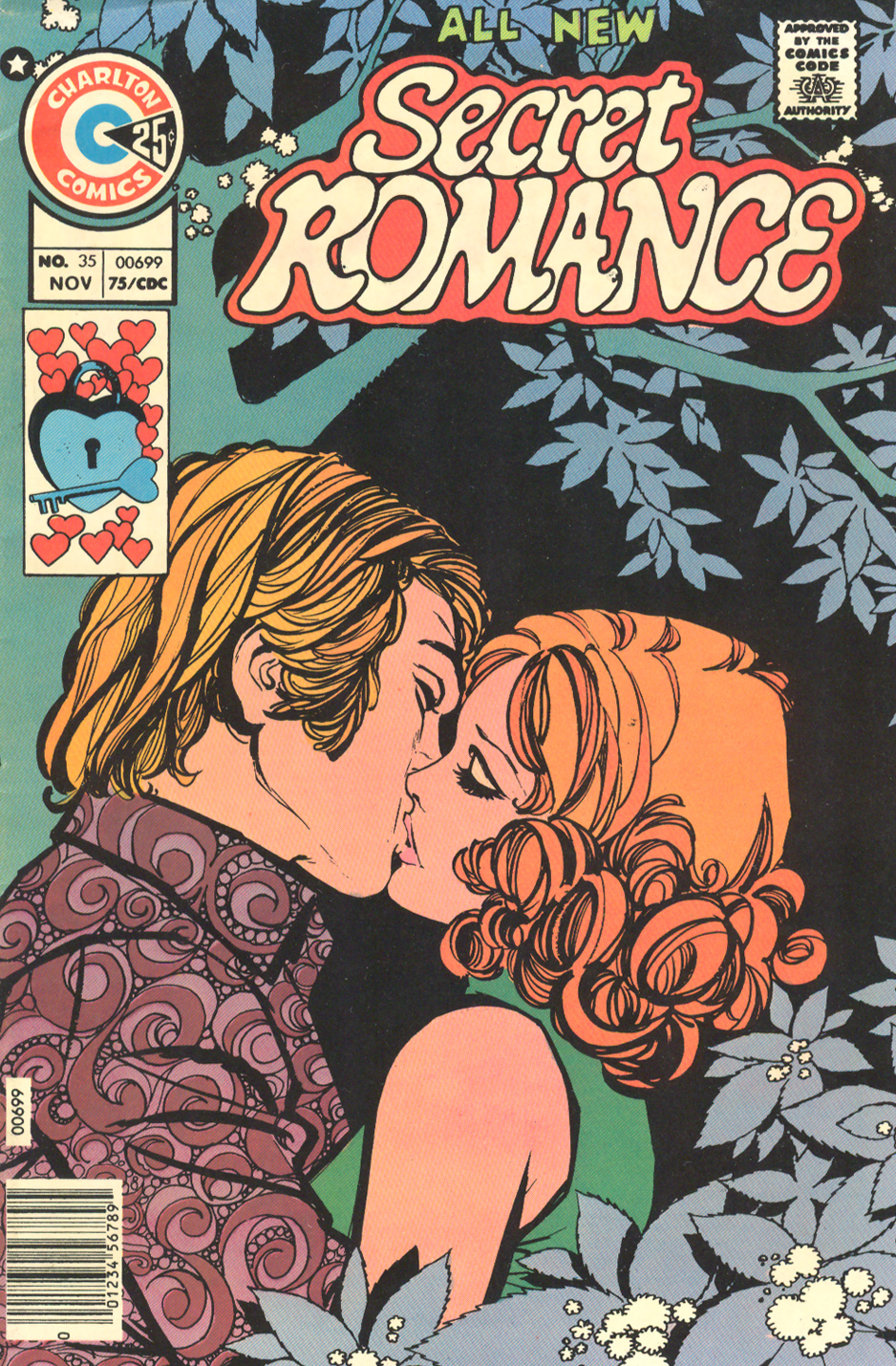 Secret Romance #35 (November 1975) Illustrated by: Gustave Pujalte