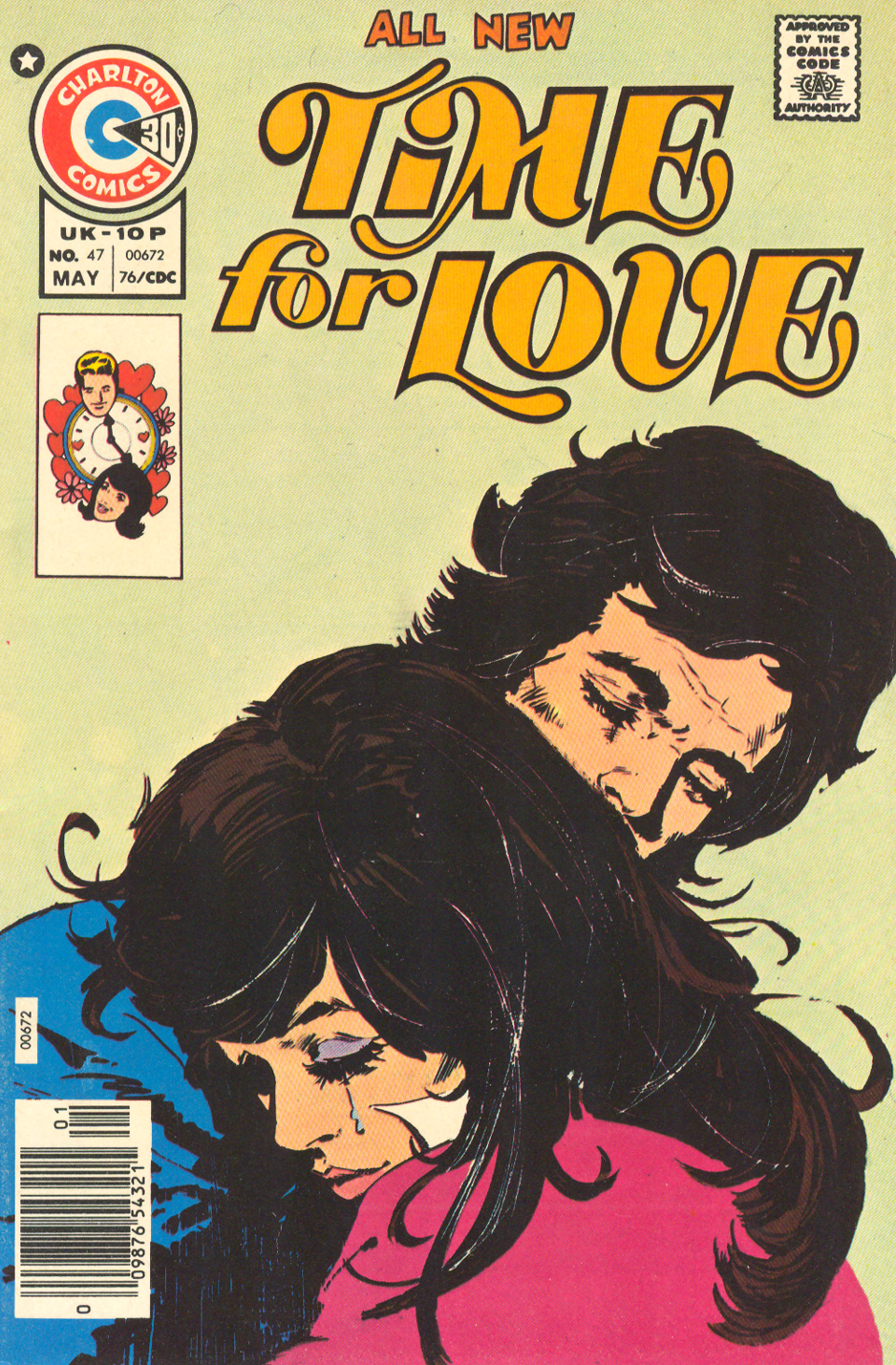 Time for Love #47 (May 1976) Illustrated by Jorge Badia Romero