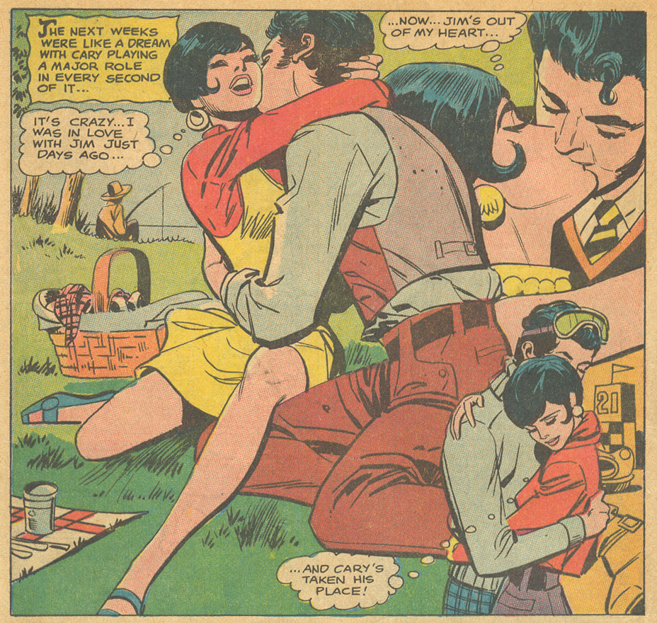 """The Truth About Men,"" from   Falling in Love   #104 (January 1969) Ric Estrada"
