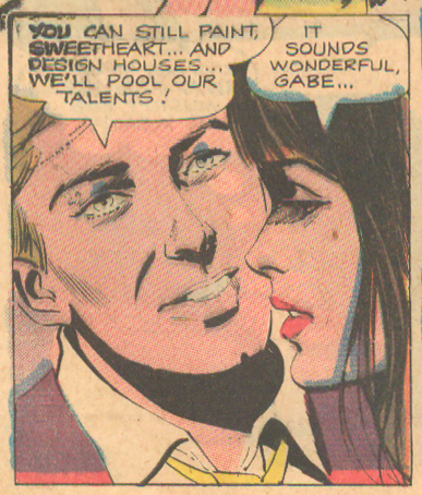 """His Love Will Destroy Me""  Career Girl Romances  #60 (December 1970)"