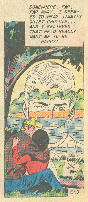 """Once I Was in Love"" For Lovers Only #62 (December 1971) Pencils: Charles Nicholas, Inks: Vincent Alascia"
