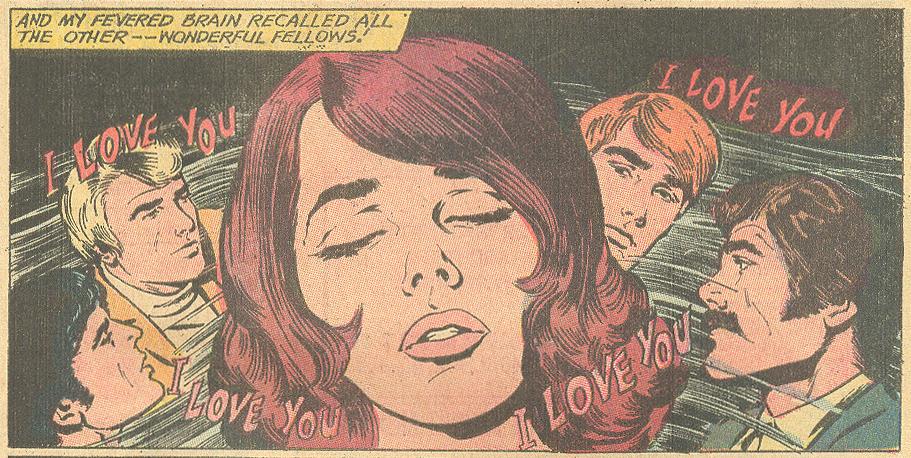 """No Love for Lisa!""  Young Love  #90 (December 1971) Pencils: John Rosenberger"