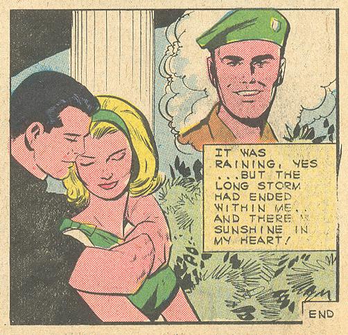 """""""Drops of Heartbreak"""" Romantic Story #83 (July 1966)"""