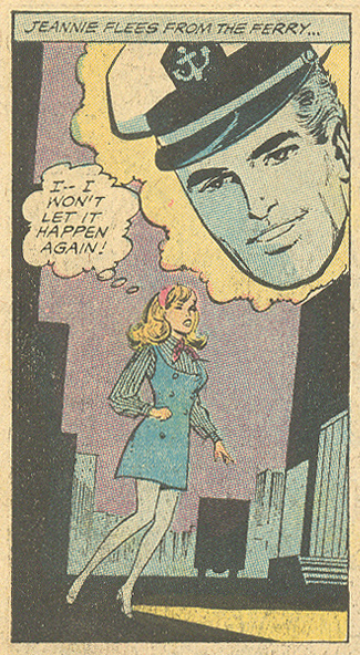 """Love Pass Me By!"" Young Romance #166 (June/July 1970) Pencils: Win Mortimer, Inks: Vince Colletta"