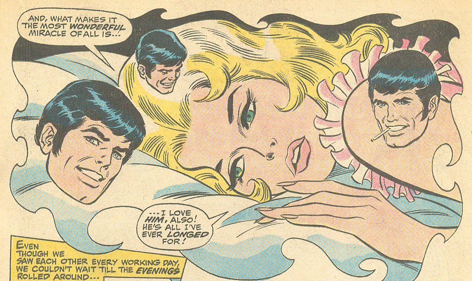 """We'll Never Meet Again!""  Our Love Story  #2 (December 1969) Pencils: John Buscema, Inks: John Romita"