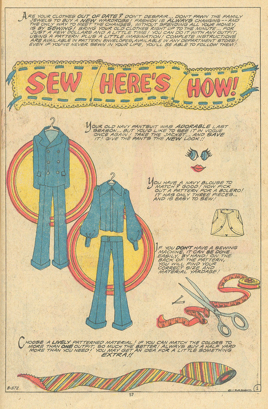 Learn how to sew DIY comic book