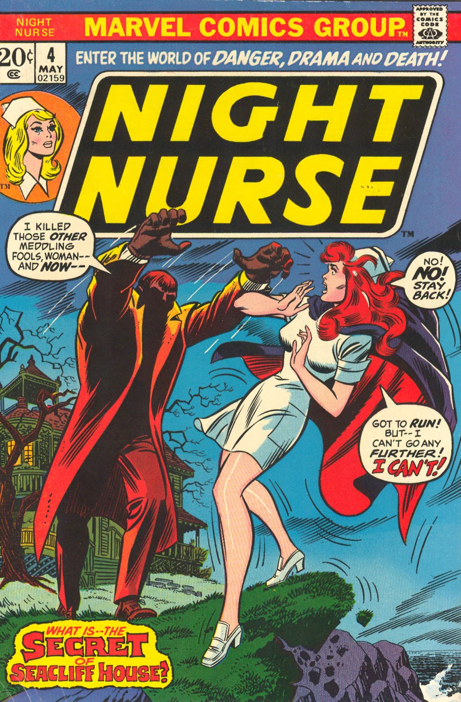 Night Nurse #4 Marvel Comics