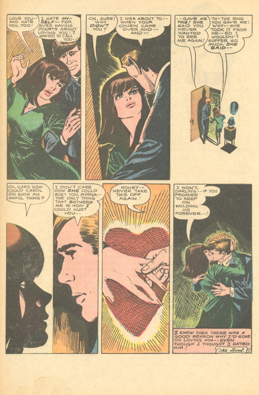 Manny Stallman comic book artist romance comic book DC