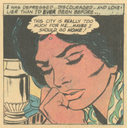 African Americans in comic books romance comic DC