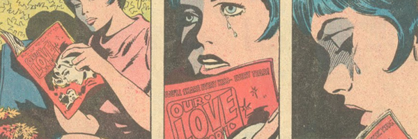 Romance Comics Depicted in Romance Comics!