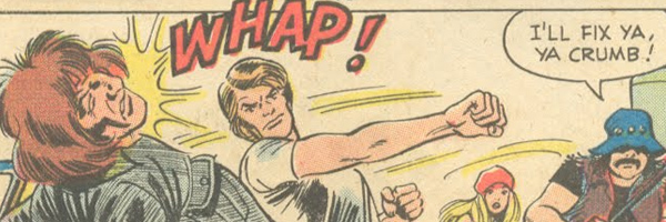 Whap! Pow! Splat! - The Guy Fights of Charlton Romance Comics!