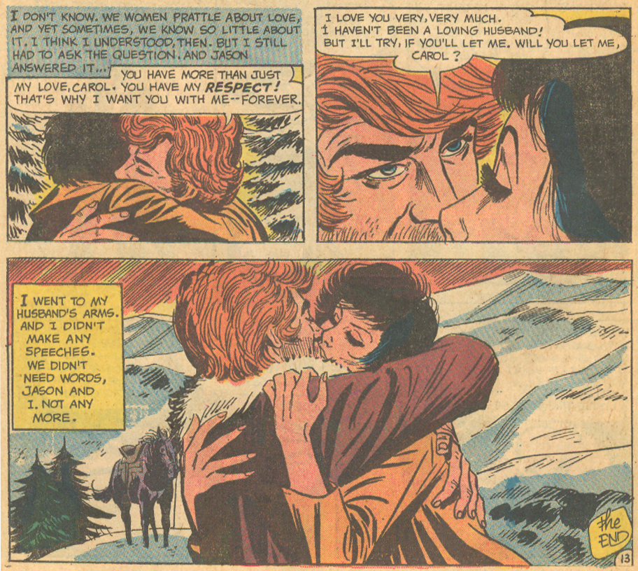 Love Stories DC Comics romance comic book