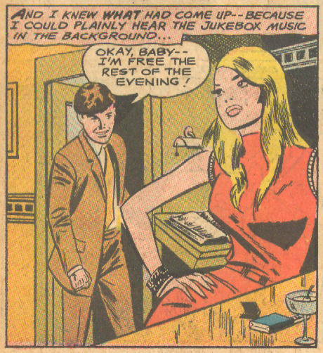 """Her Last Chance for Romance!""  Falling in Love  #94 (October 1967)"