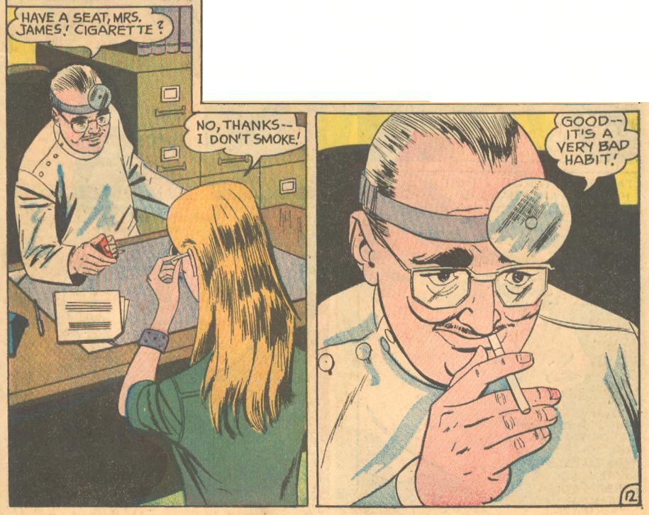 Episode 9  Heart Throbs  #110 (October/November 1970)