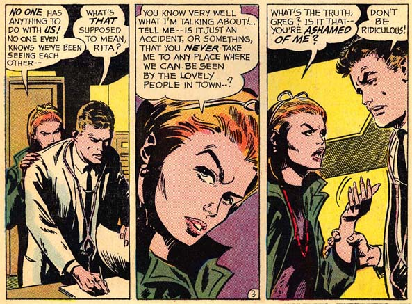 Secret Hearts #111 (April 1966) illustrated by Gene Colan