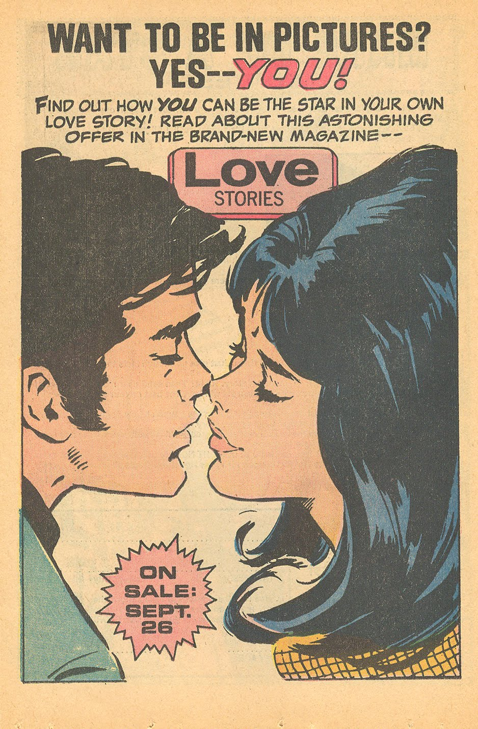 Advertising titles, stories, and collections of books, the house ads of the romance comics are both informative and fun!