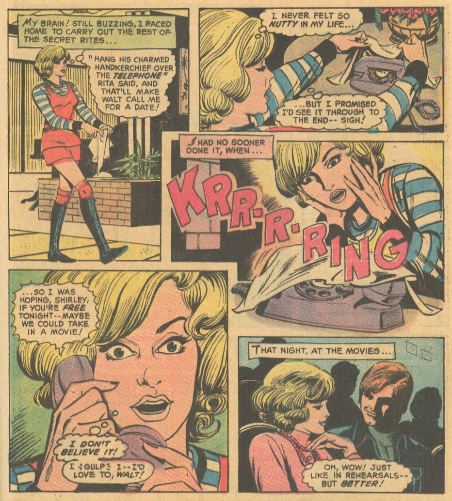 """Love Potion"" from Heart Throbs #137 (January 1972)"