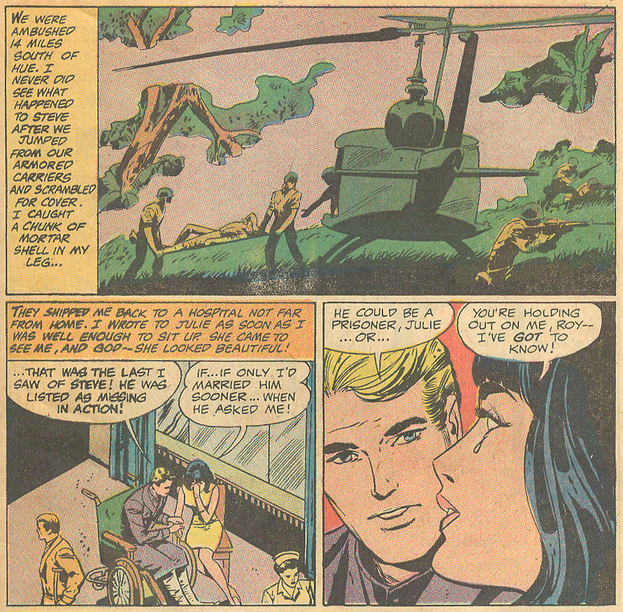 Vietnam war romance comic book desertion