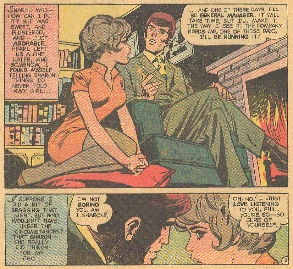 """Sweet... and Simple!"" Girls' Love Stories #159 (May 1971) Pencils by Saaf and inked by Vince Colletta"