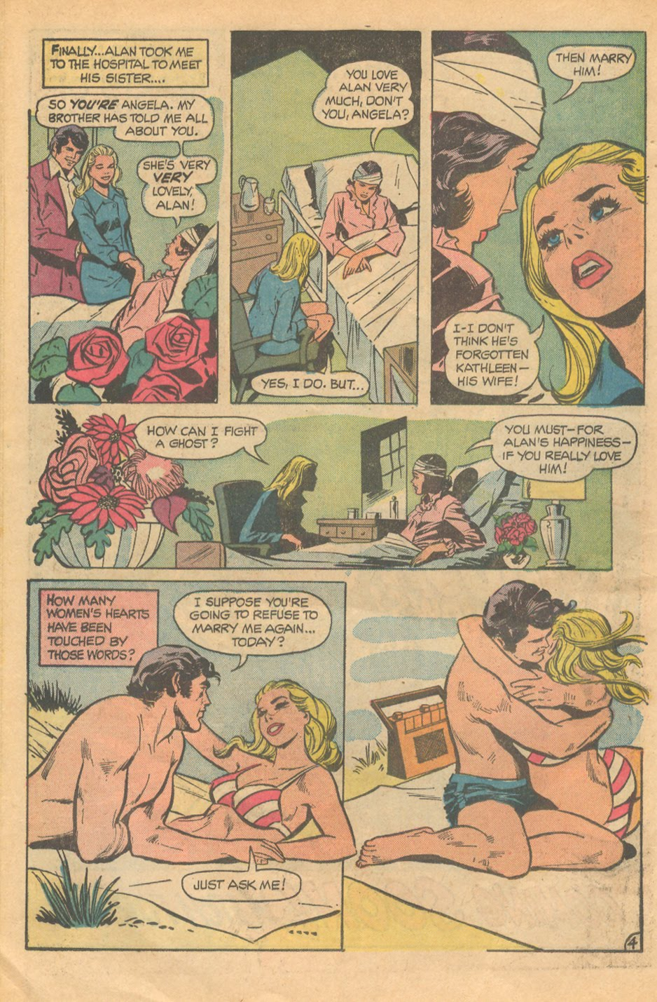 Love Stories #148 romance comic book series dc
