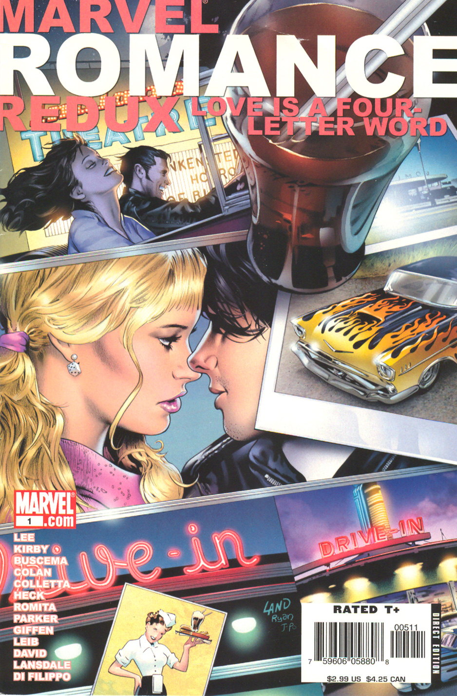 Marvel Romance Redux issue Love is a Four Letter Word from August of 2006