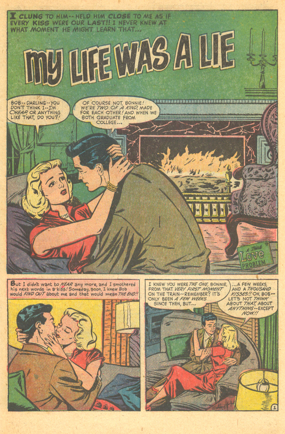 vintage romance comic books sequential crush