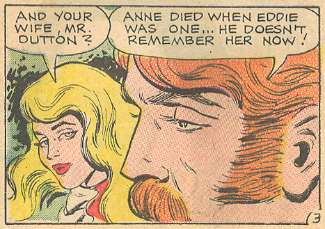 "...as were the single fathers of the romance comics. ""Cupid is a Monster""  Romantic Story  #116 (December 1971)"