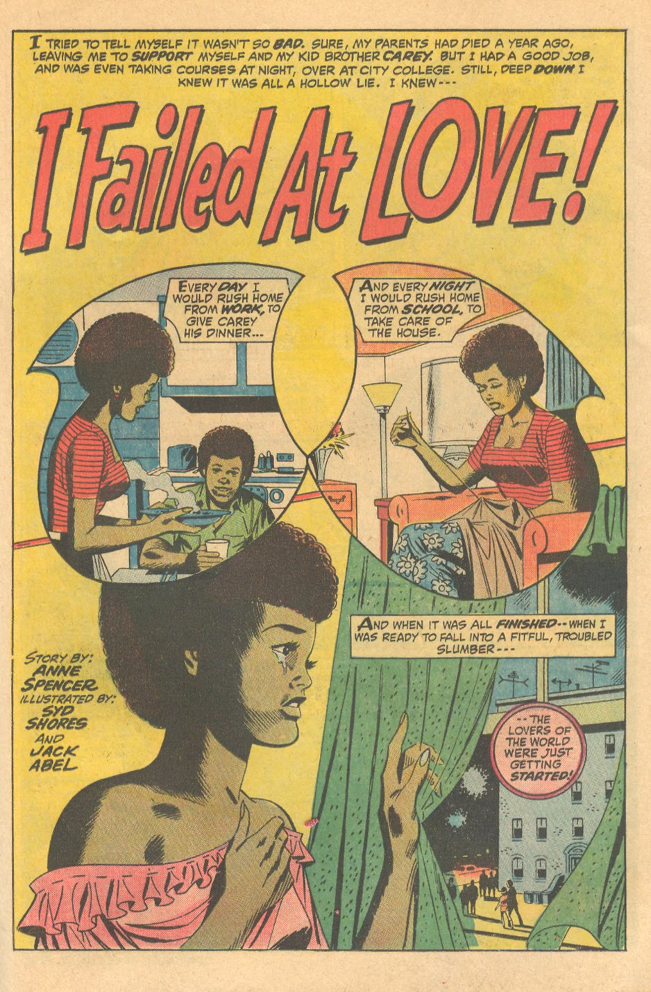 "The kiss-less romance, Marvel's ""I Failed at Love!"""