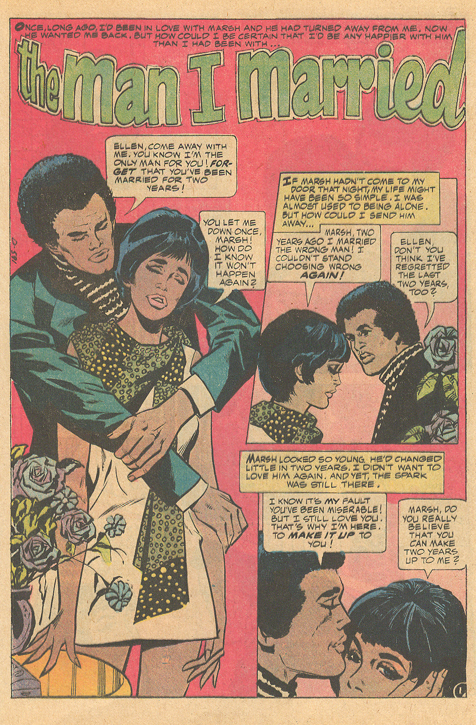 """The Man I Married"" from Heart Throbs #138 (February 1972)"