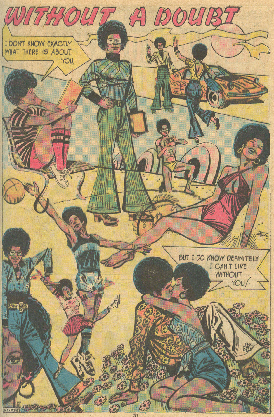 Black african-american characters in comic books