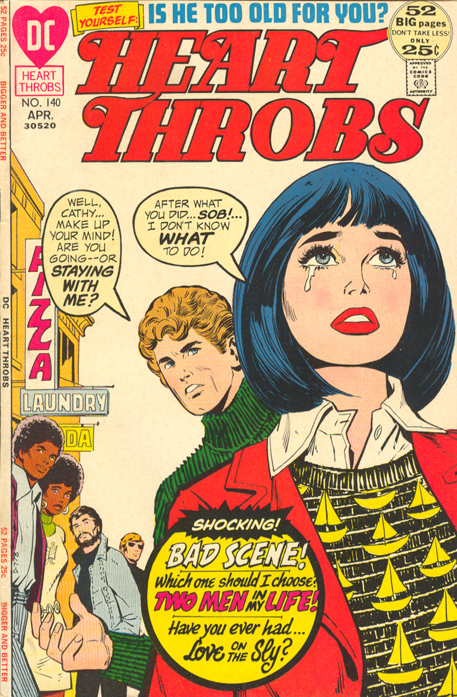 Heart Throbs  #140 (April 1972)