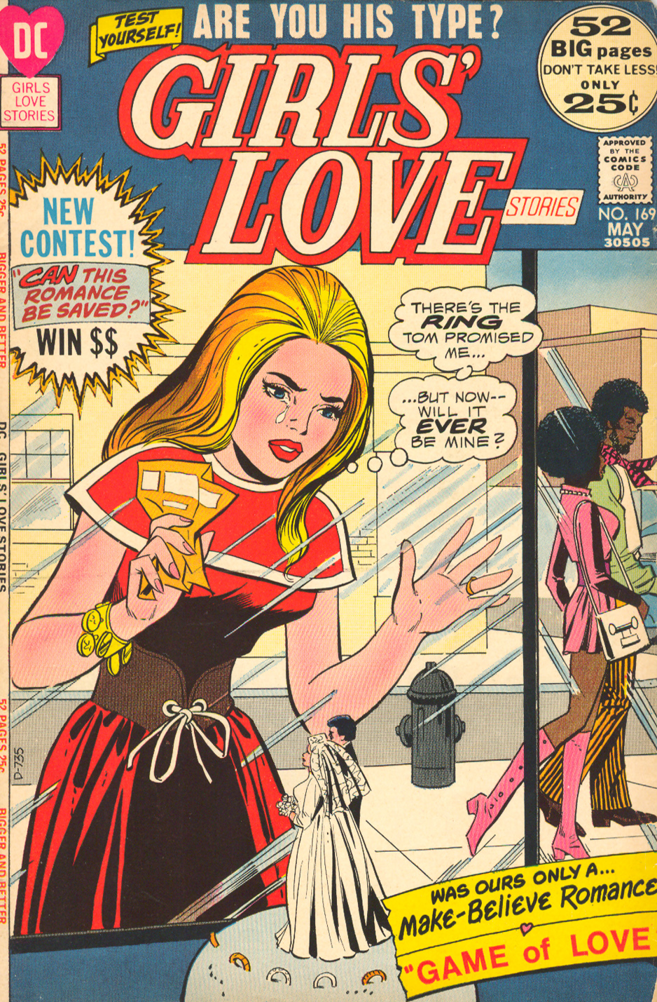 Girls' Love Stories  #169 (May 1972)