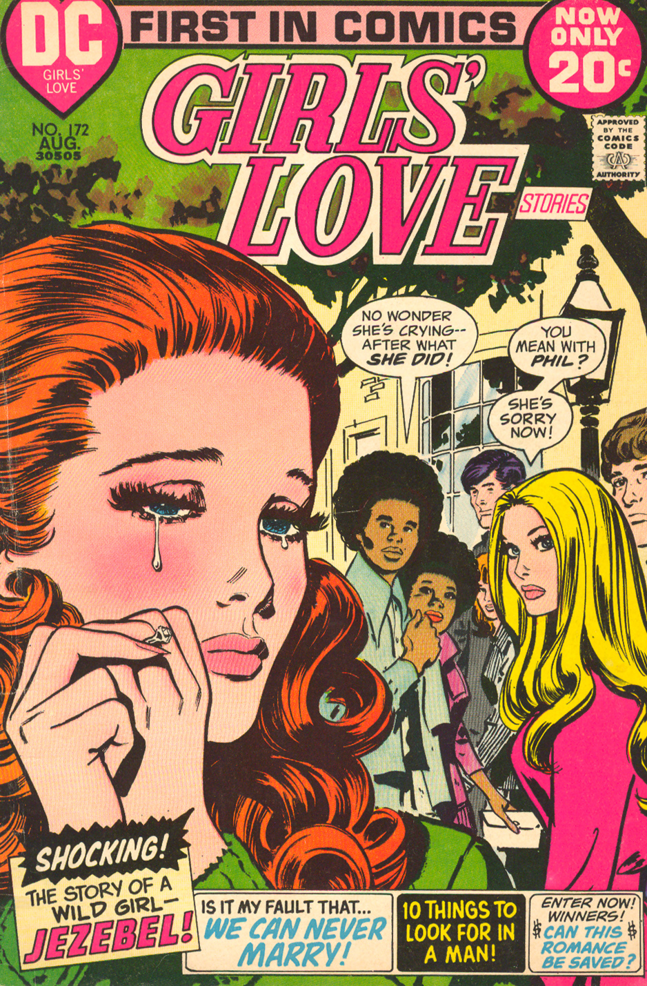 Girls' Love Stories  #172 (August 1972)