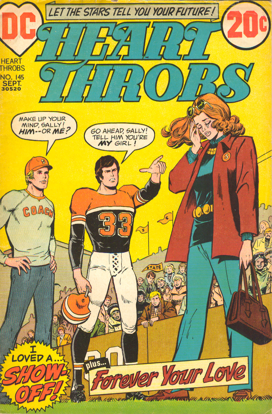 Heart Throbs  #145 (September 1972)