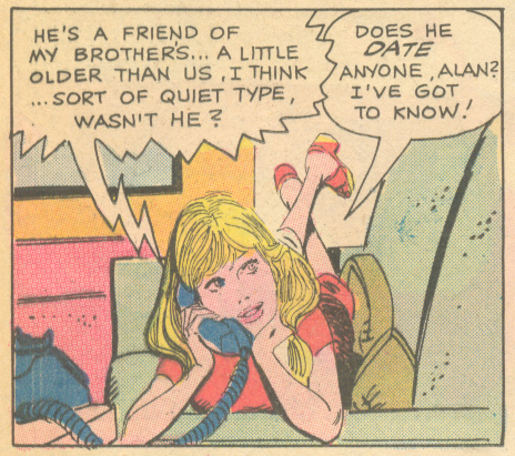 """No More Kid's Kisses"" Teen Confessions #76 (October 1972)"