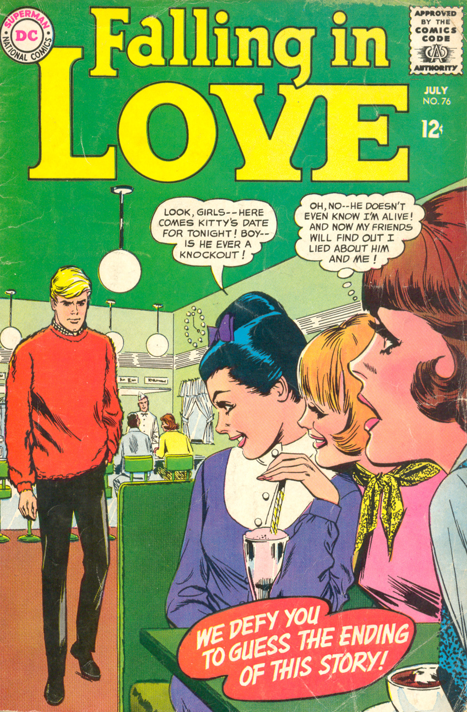 Falling in Love  #76 (July 1965) Pencils: Tony Abruzzo