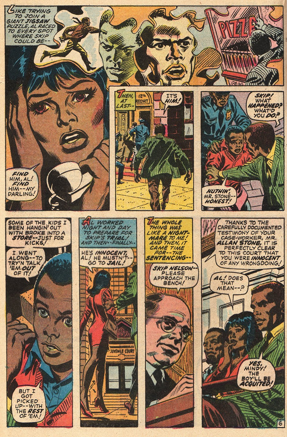 "Inks: John Romita, ""--But He's the Boy I Love!"" Our Love Story #5 (June 1970)"