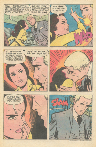 DC comics serial romance comic book Alex Toth