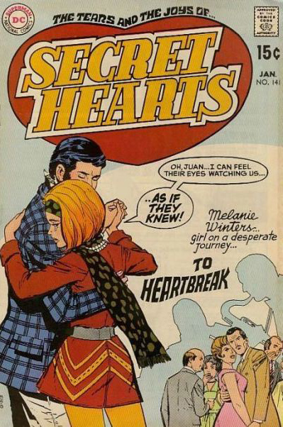 Part two originally published in Secret Hearts #141 (January 1970)* Cover image from the Grand Comics Database