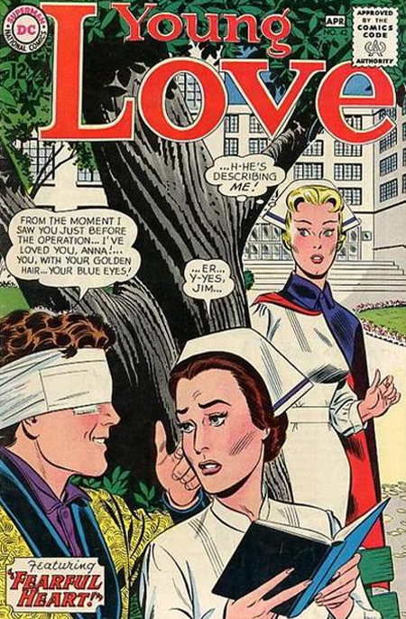 Young Love  #42 (March/April 1964) Pencils and inks: John Romita (Cover from the Grand Comics Database)