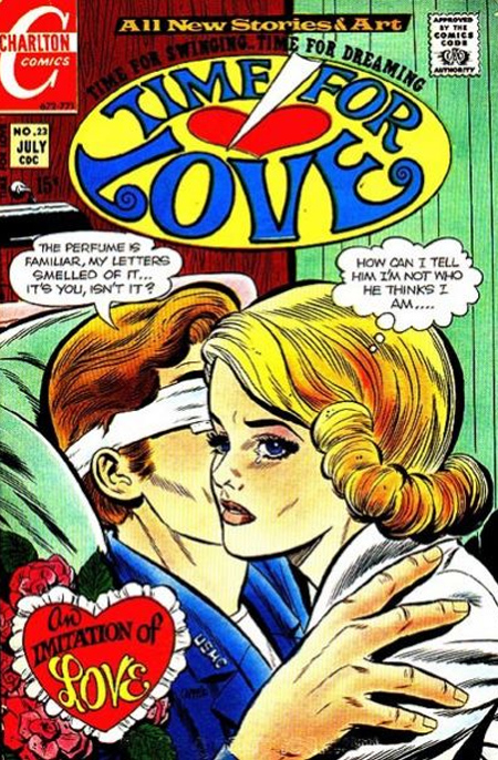Time for Love #23 (July 1971) (Cover from the Grand Comics Database)