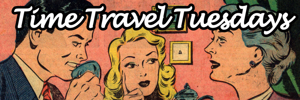 Time Travel Vintage romance comic books
